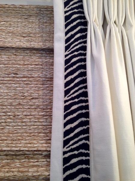 Panels in White Linen