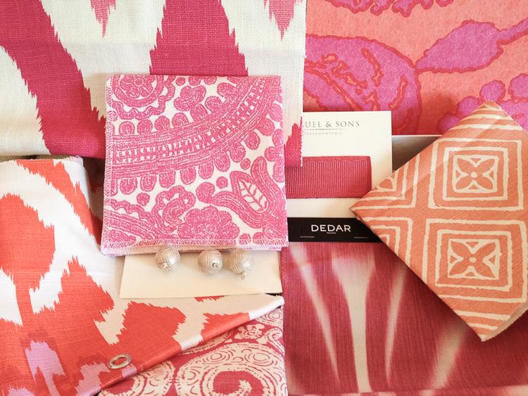 Design Box - A Splash of Color in Pink amp Orange