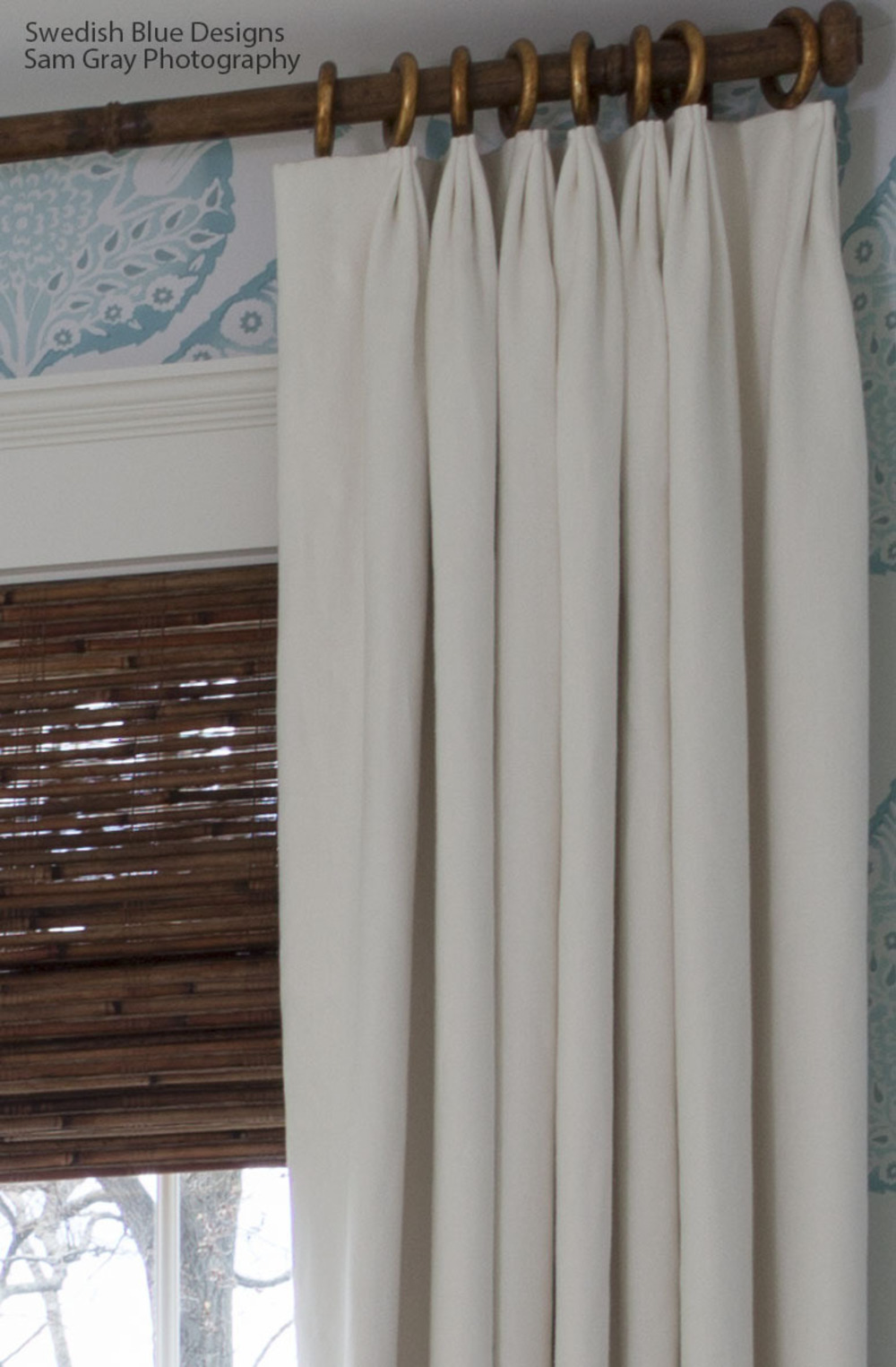 Window Treatments Close-up